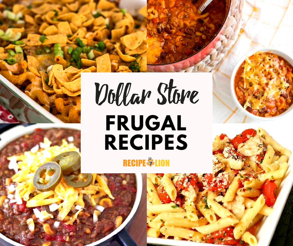 Dollar Store Food 14 Frugal Recipes For You