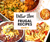 Dollar Store Food: 14 Frugal Recipes for You