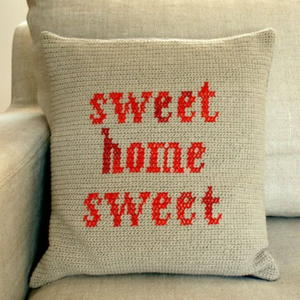 Sweet Home Sweet Pillow