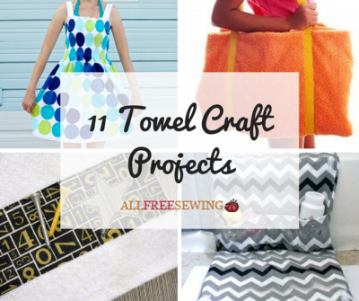 11 Towel Craft Projects