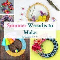 39 Summer Wreaths to Make