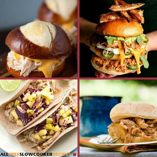 9 Easy Pulled Chicken Slow Cooker Recipes