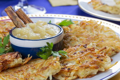 Simply Shredded Potato Pancakes
