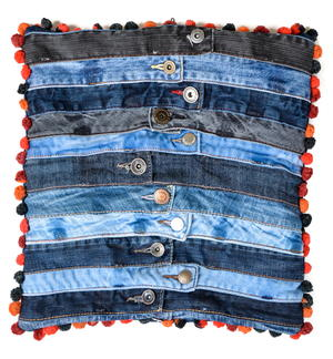 Denim Waistband Cushion