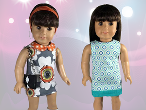 American Girl Mod Dress Sewing Pattern