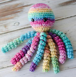 Baby Knitting Patterns Crochet pattern Octopus XXL OliMori ... | 306x300