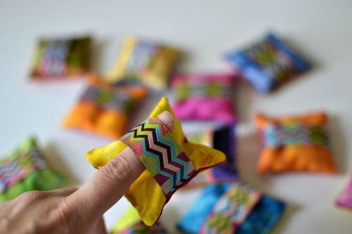 Ribbon Band DIY Pattern Weights