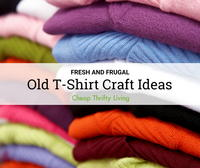 11 Old T-Shirt Craft Ideas