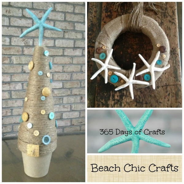 Coastal Chic Christmas Decor