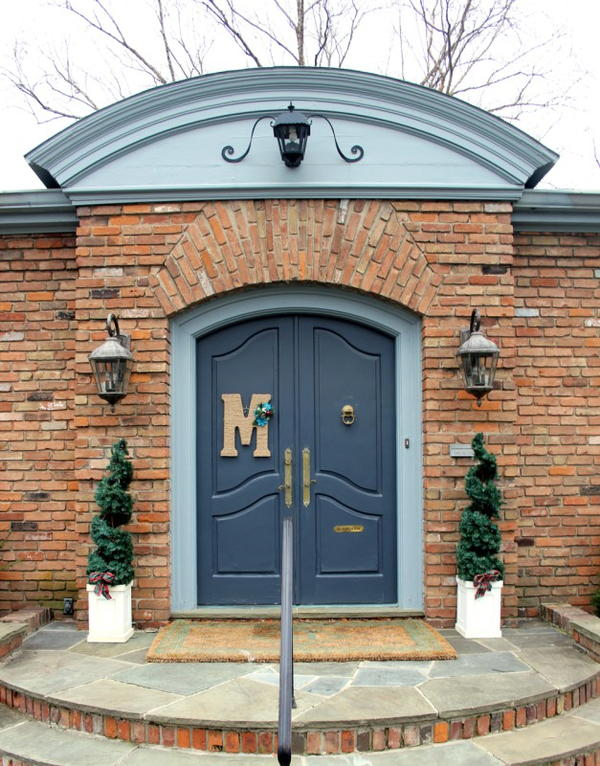 Monogram Door Hanging