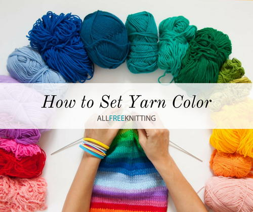 How to Set Yarn Color