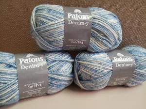 Patons Denim-y Yarn