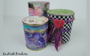 Recycled Gift Cans