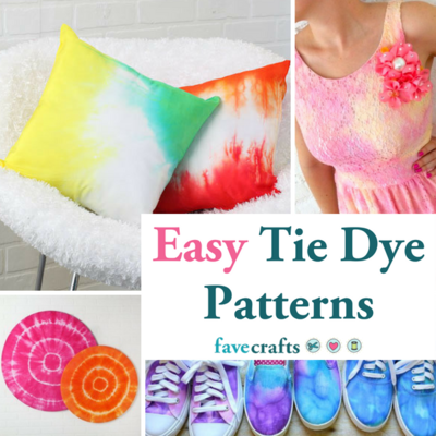 35 Easy Tie Dye Patterns