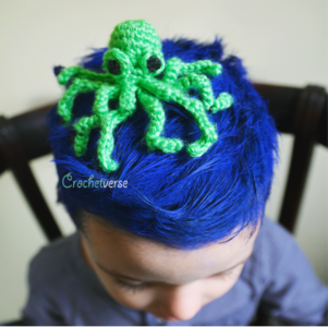 Mini Amigurumi Octopus Pattern