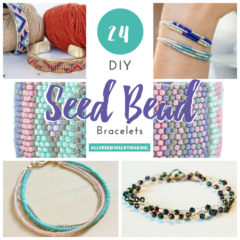 24 Diy Seed Bead Bracelets Allfreejewelrymaking Com