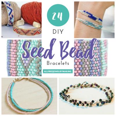 24 Diy Seed Bead Bracelets