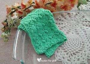 Crochet Tulip Stitch Dishcloth