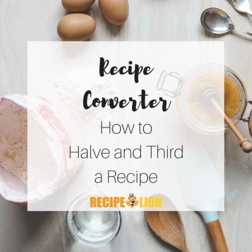 Recipe Converter