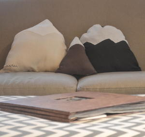 Rugged Mountain DIY Pillows