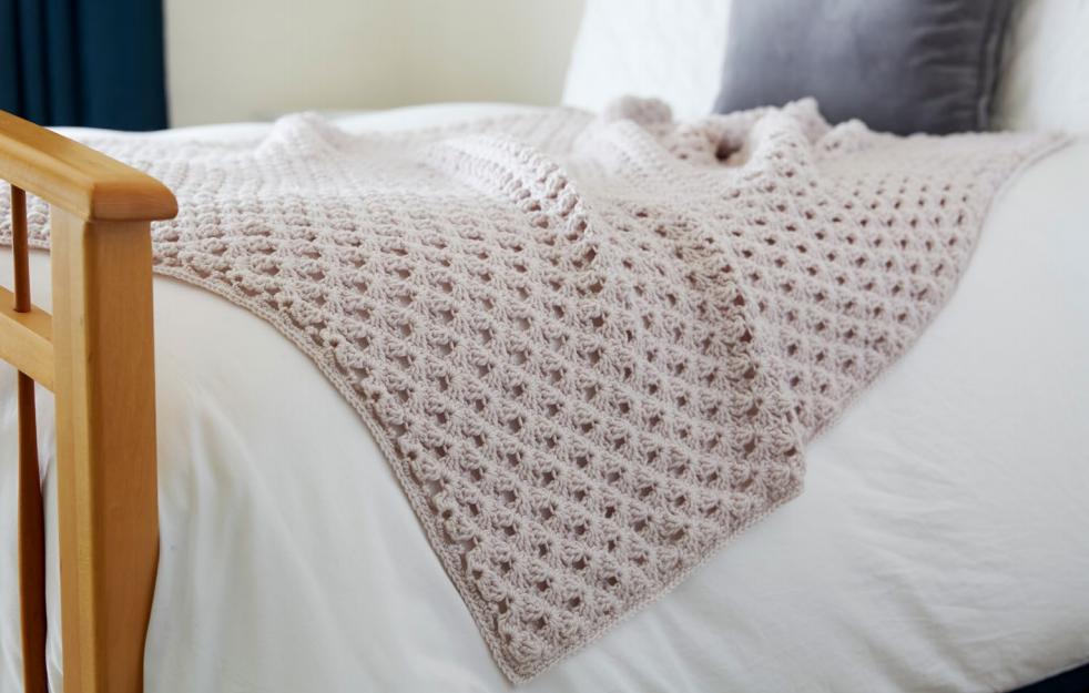 Hygge Happy Crochet Throw Pattern