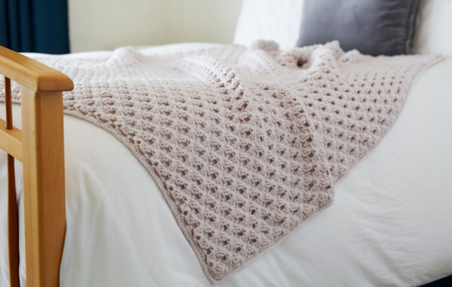 Hygge Happy Crochet Throw Pattern