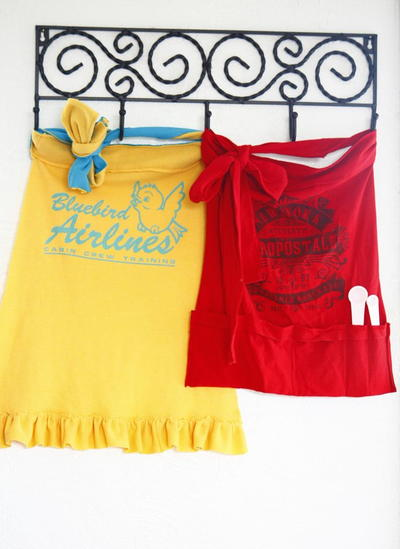 Easy T Shirt Aprons