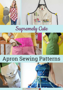 42 Supremely Cute Apron Sewing Patterns