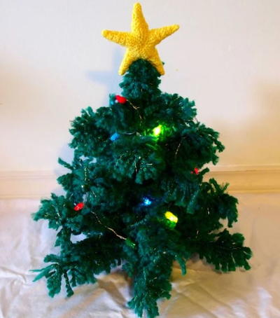 Cute Crochet Christmas Tree