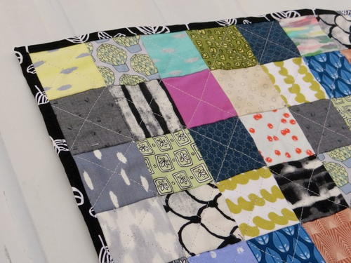 Postage Stamp Mini Quilt Tutorial