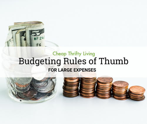 Budgeting Rules of Thumb Budgeting for Beginners