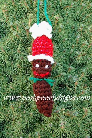 Dog Poop Christmas Ornament