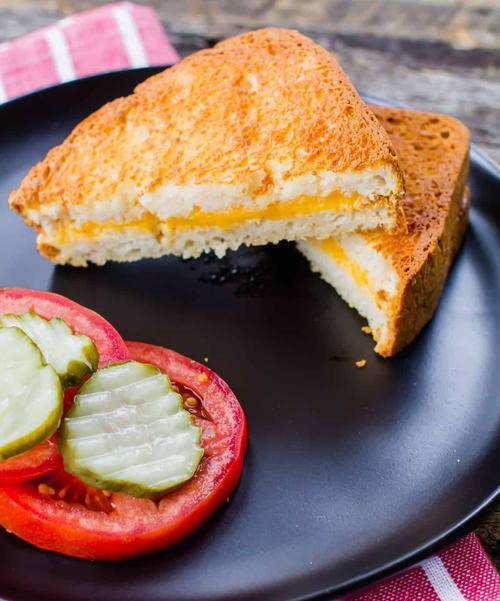 Perfect Air Fryer Grilled Cheese