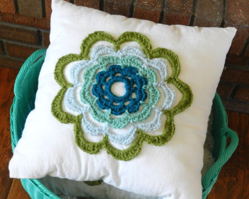 Summer Flower Pillow Pattern