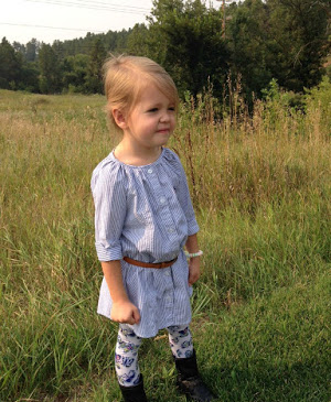 Butterfly Tunic Dress Pattern