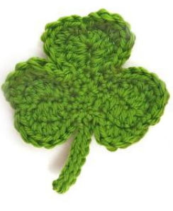 Lucky Shamrock Crochet Pattern