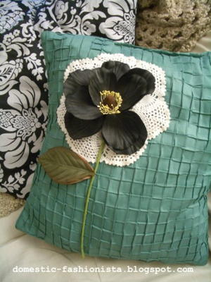 Embellish a Pillow for Mom