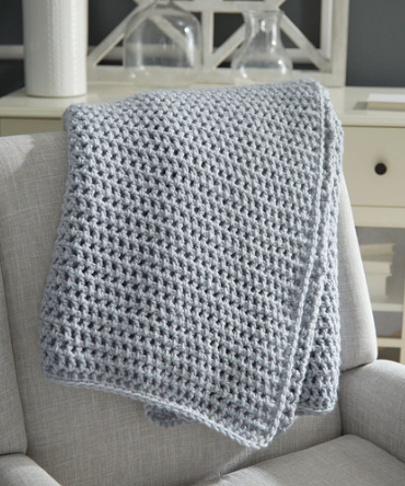 Beautiful Beginner Crochet Throw