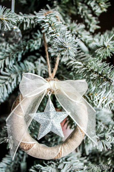 Mini Twine Mason Jar Wreath