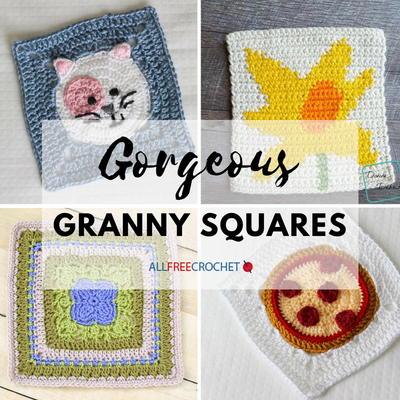 a94ea55f684a 32 Gorgeous Crochet Granny Squares