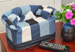 Old Jeans Mini Sofa