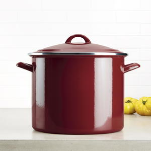 Ayesha 12-Quart Enamel on Steel Stockpot Giveaway