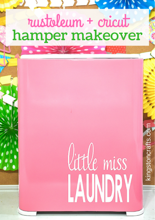 Laundry Hamper Makeover