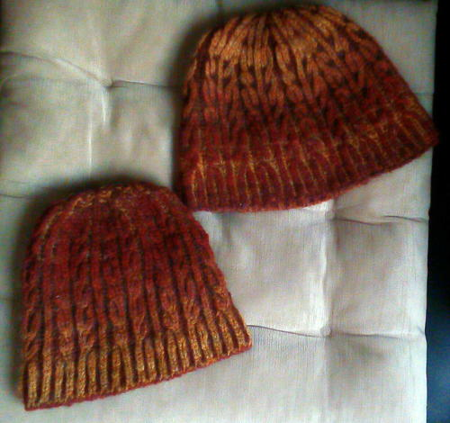 Autumn Brioche Hat