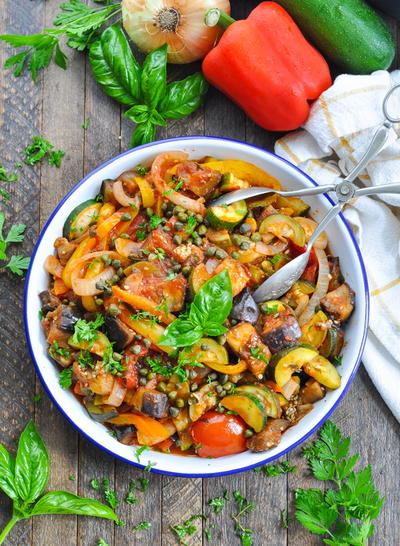 Dump-and-Bake Ratatouille