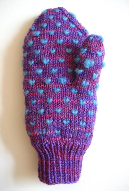 Cotton Candy Mittens