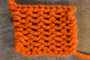 How to Knit the Close Stitch