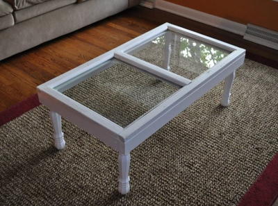 Country Window Coffee Table Tutorial