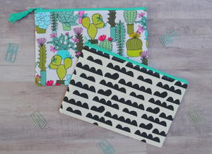 Zipper Pouch Sewing Pattern