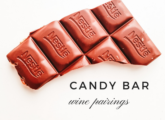 Candy Bar Wine Pairings